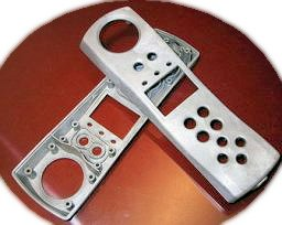 inherentlry shielded plastic molded parts
